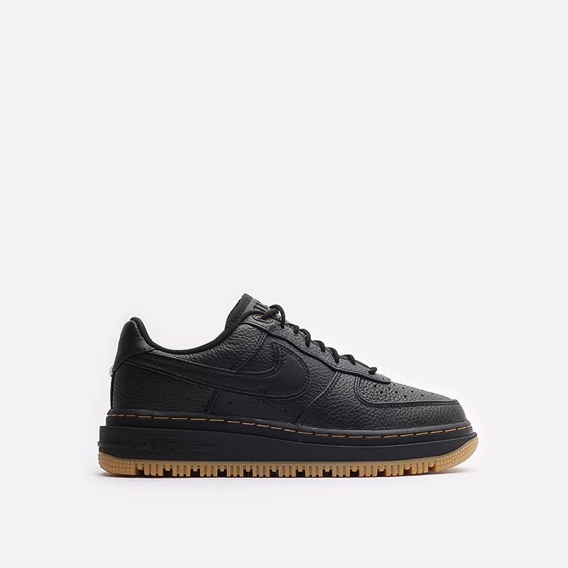 мужские черные кроссовки Nike Air Force 1 Luxe DB4109-001 - цена, описание, фото 1