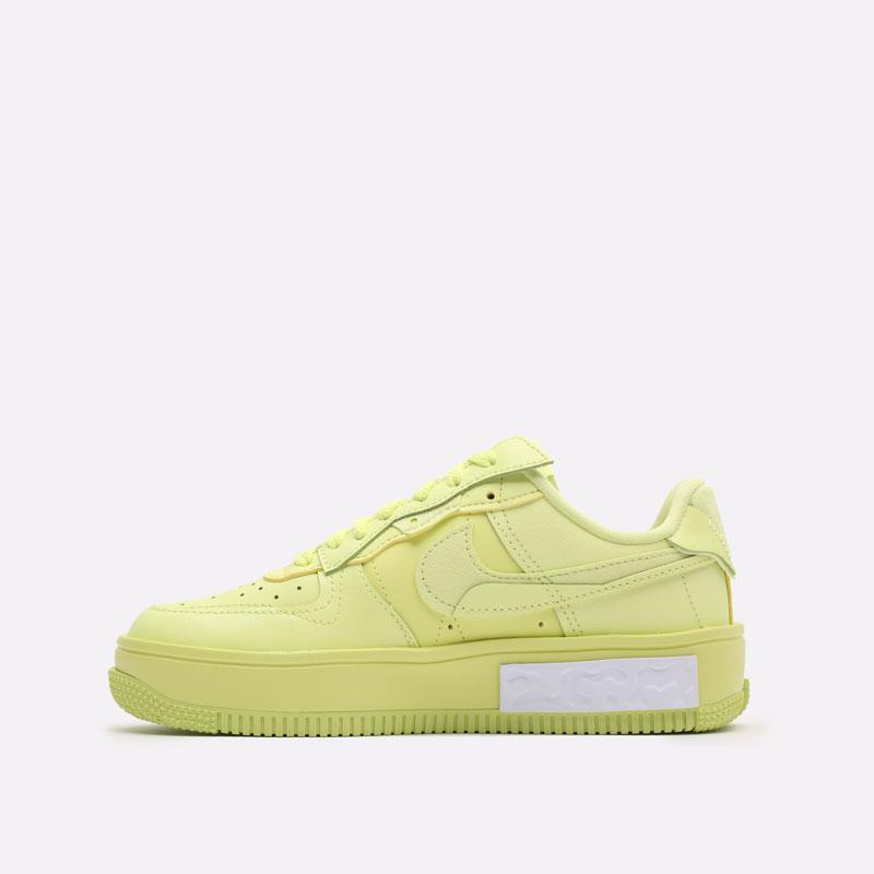 женские желтые кроссовки Nike WMNS Air Force 1 Fontanka DA7024-700 - цена, описание, фото 2