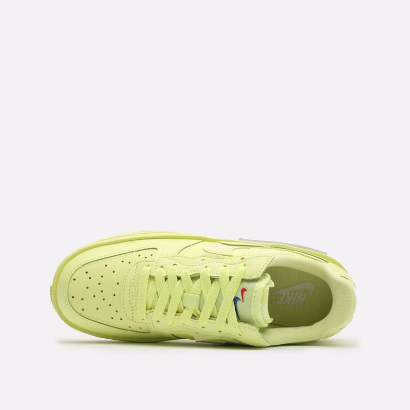женские желтые кроссовки Nike WMNS Air Force 1 Fontanka DA7024-700 - цена, описание, фото 6