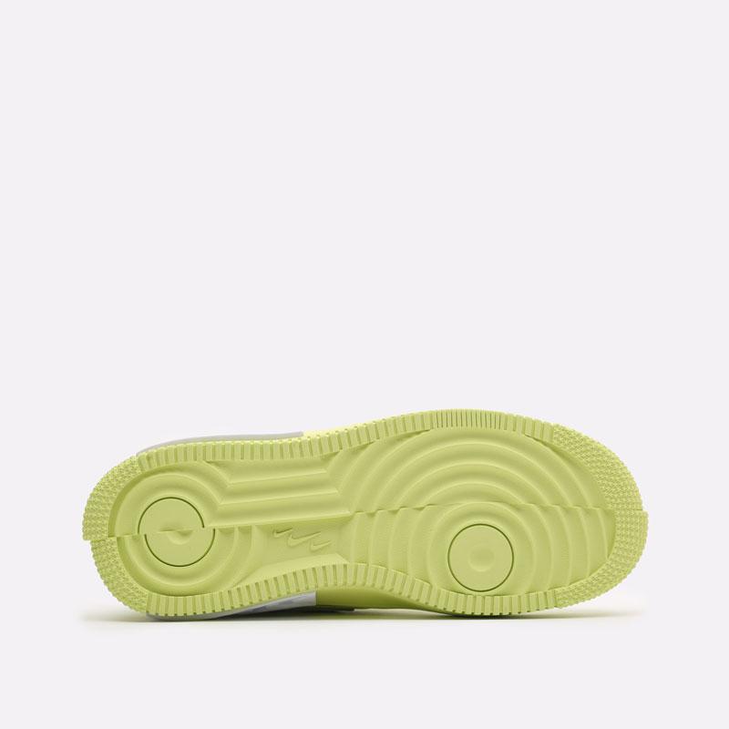 женские желтые кроссовки Nike WMNS Air Force 1 Fontanka DA7024-700 - цена, описание, фото 5