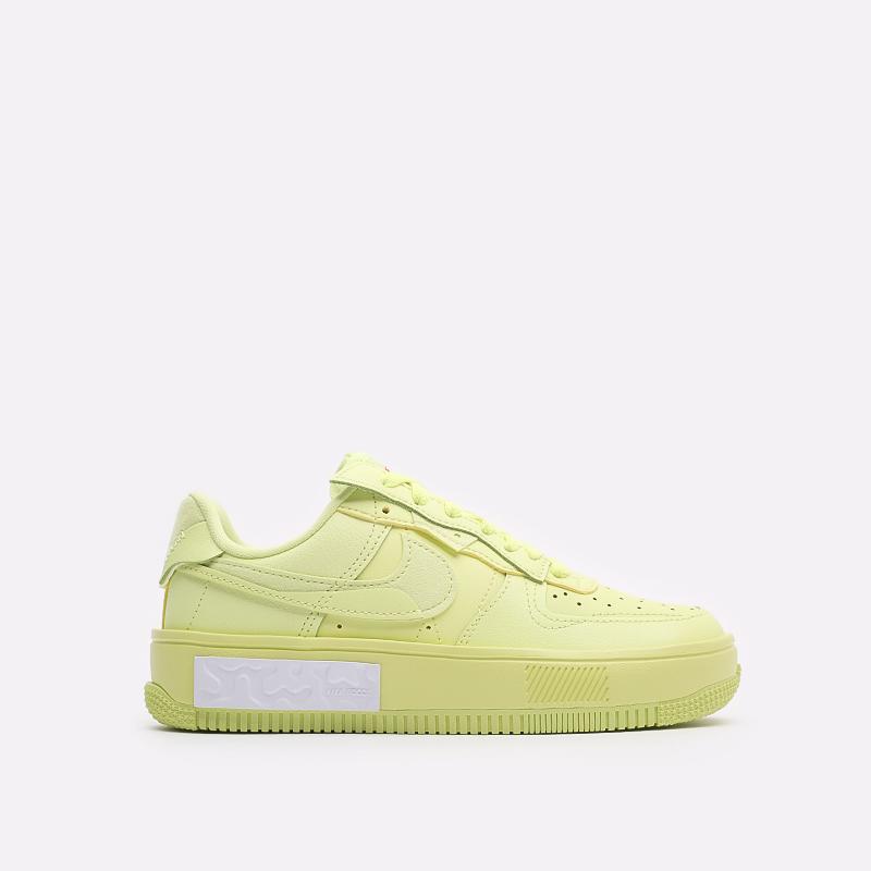 женские желтые кроссовки Nike WMNS Air Force 1 Fontanka DA7024-700 - цена, описание, фото 1