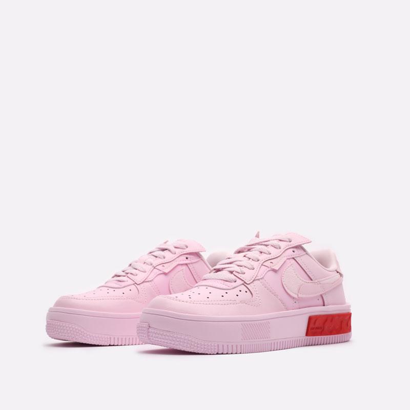 женские розовые кроссовки Nike WMNS Air Force 1 Fontanka DA7024-600 - цена, описание, фото 4