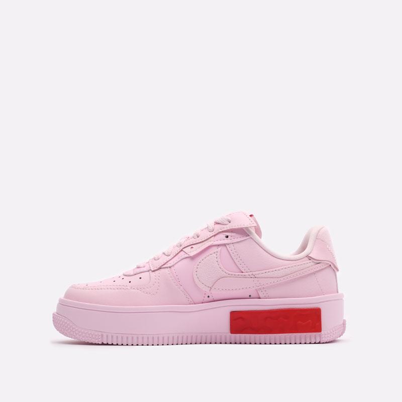 женские розовые кроссовки Nike WMNS Air Force 1 Fontanka DA7024-600 - цена, описание, фото 2