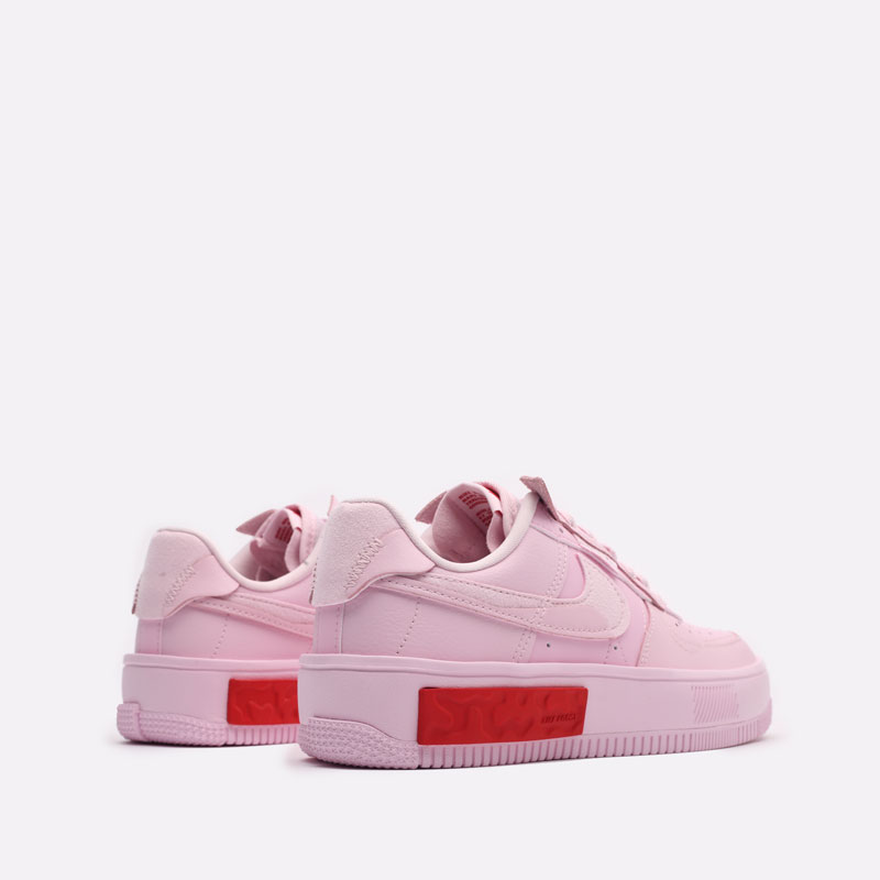 женские розовые кроссовки Nike WMNS Air Force 1 Fontanka DA7024-600 - цена, описание, фото 3