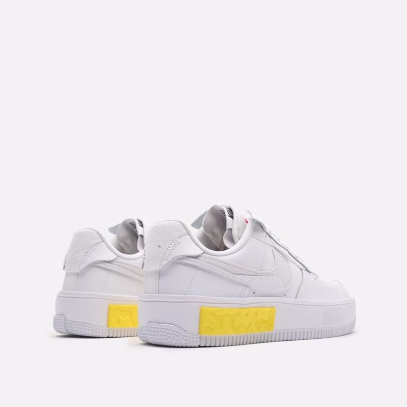 женские белые кроссовки Nike WMNS Air Force 1 Fontanka DA7024-101 - цена, описание, фото 3