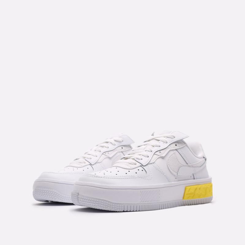 женские белые кроссовки Nike WMNS Air Force 1 Fontanka DA7024-101 - цена, описание, фото 4
