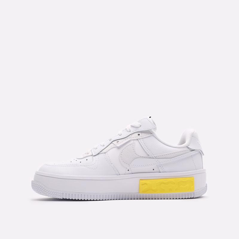 женские белые кроссовки Nike WMNS Air Force 1 Fontanka DA7024-101 - цена, описание, фото 2