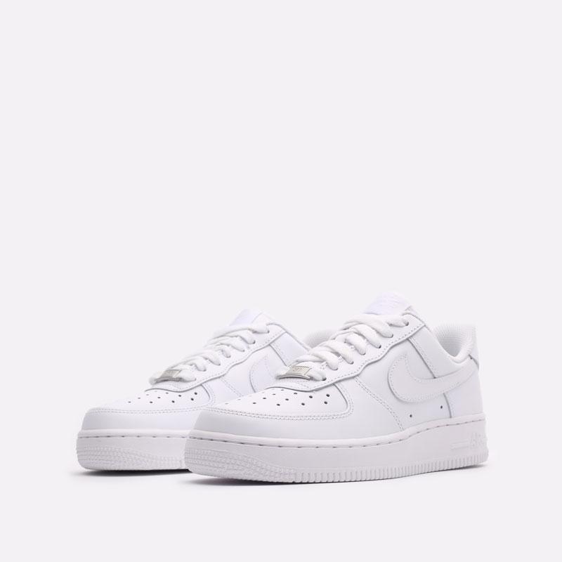 женские белые кроссовки Nike WMNS Air Force 1 '07 DD8959-100 - цена, описание, фото 4
