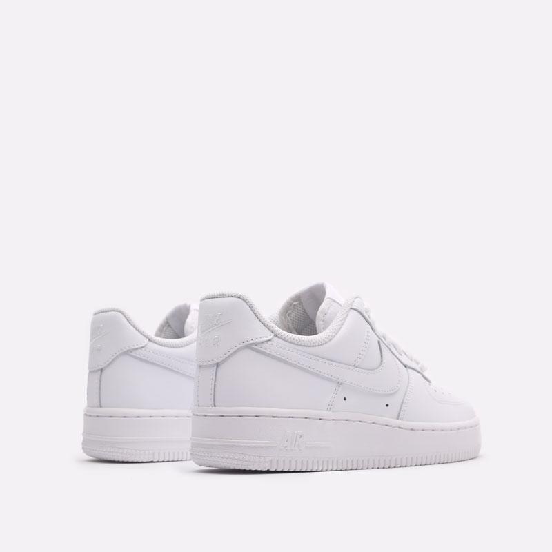 женские белые кроссовки Nike WMNS Air Force 1 '07 DD8959-100 - цена, описание, фото 3