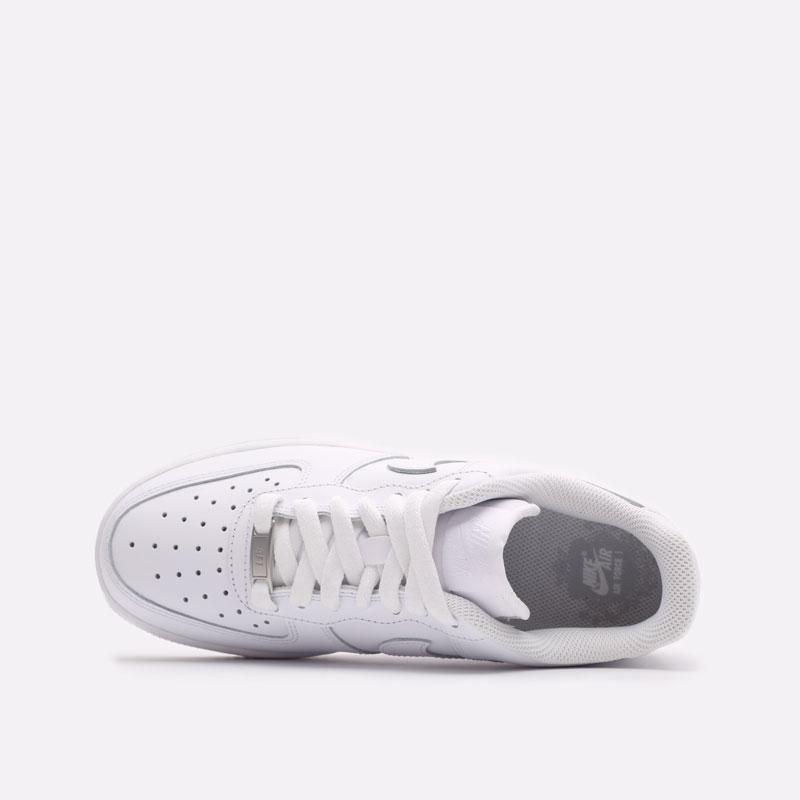женские белые кроссовки Nike WMNS Air Force 1 '07 DD8959-100 - цена, описание, фото 6