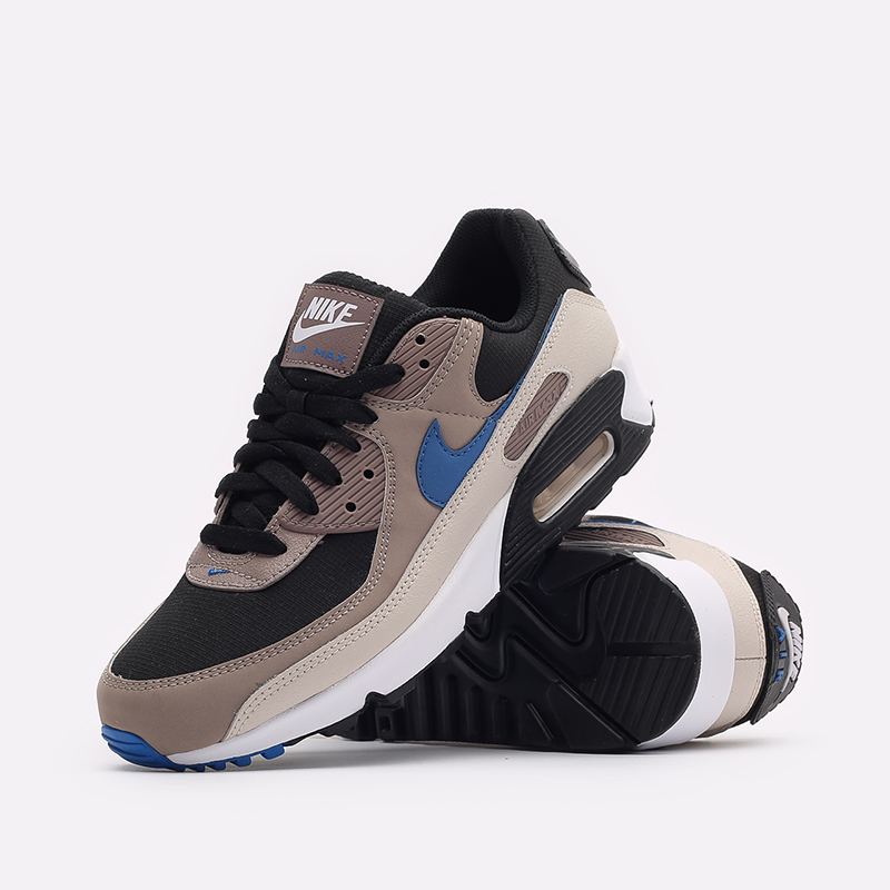 мужские черные кроссовки Nike Air Max 90 DC9388-001 - цена, описание, фото 2
