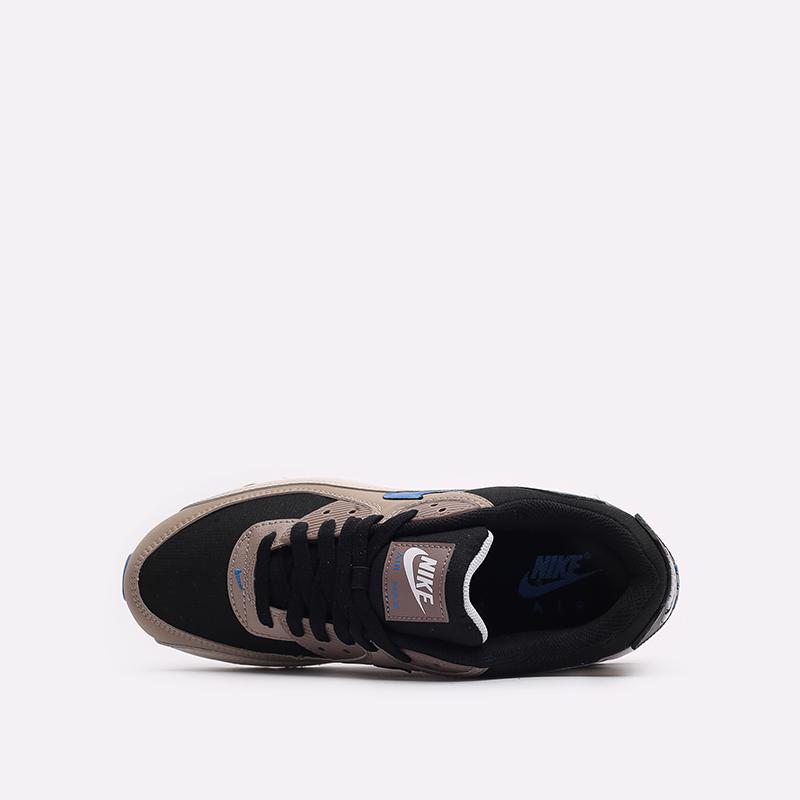 мужские черные кроссовки Nike Air Max 90 DC9388-001 - цена, описание, фото 6