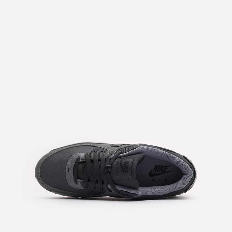 мужские серые кроссовки Nike Air Max 90 DC9388-003 - цена, описание, фото 6
