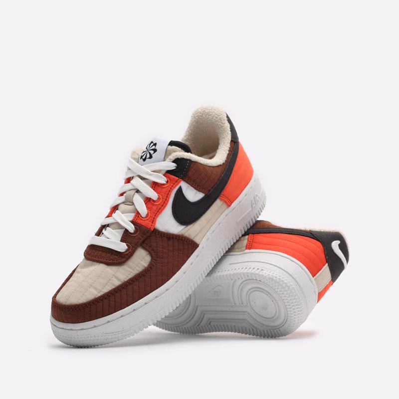 женские бежевые кроссовки Nike WMNS Air Force 1 '07 LXX NN DH0775-200 - цена, описание, фото 2
