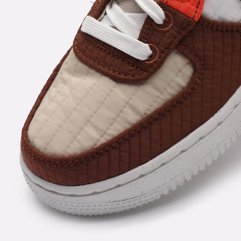 женские бежевые кроссовки Nike WMNS Air Force 1 '07 LXX NN DH0775-200 - цена, описание, фото 7