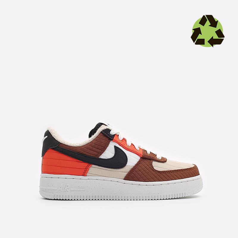 женские бежевые кроссовки Nike WMNS Air Force 1 '07 LXX NN DH0775-200 - цена, описание, фото 1