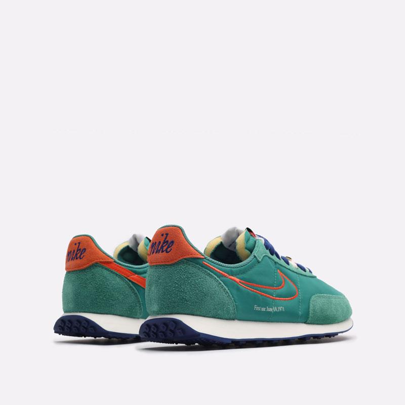 мужские зеленые кроссовки Nike Waffle Trainer 2 DH4390-300 - цена, описание, фото 3