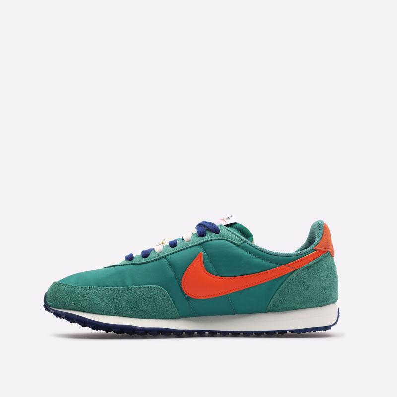 мужские зеленые кроссовки Nike Waffle Trainer 2 DH4390-300 - цена, описание, фото 2