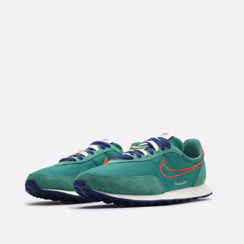 мужские зеленые кроссовки Nike Waffle Trainer 2 DH4390-300 - цена, описание, фото 4