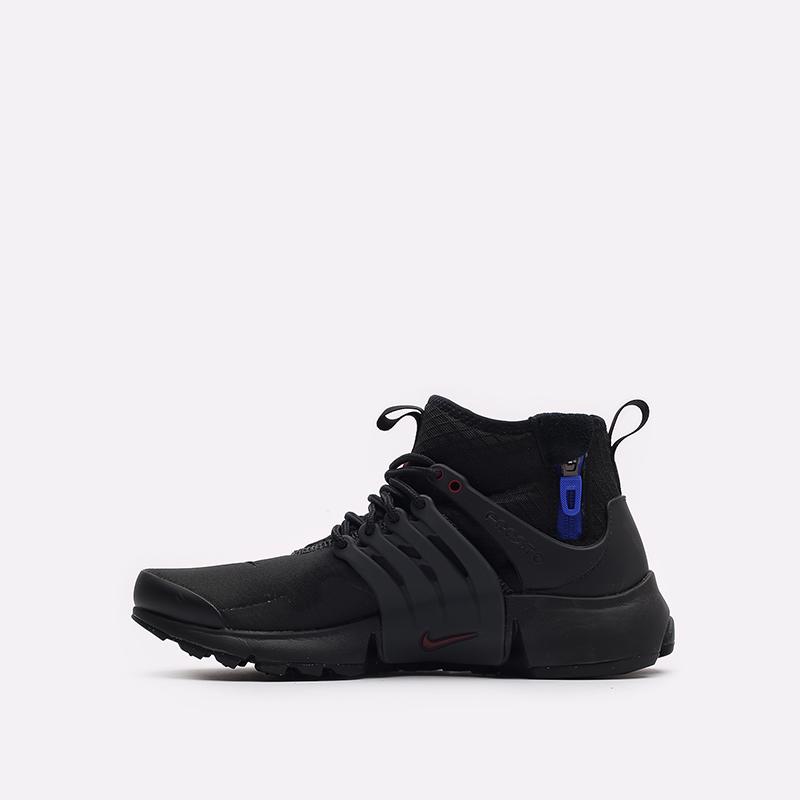 мужские черные кроссовки Nike Air Presto Mid Utility DC8751-001 - цена, описание, фото 2