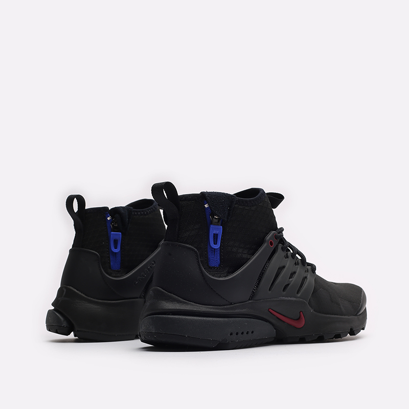 мужские черные кроссовки Nike Air Presto Mid Utility DC8751-001 - цена, описание, фото 3