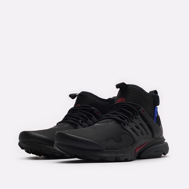 мужские черные кроссовки Nike Air Presto Mid Utility DC8751-001 - цена, описание, фото 4