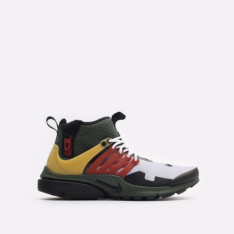 мужские разноцветные кроссовки Nike Air Presto Mid Utility DC8751-300 - цена, описание, фото 1