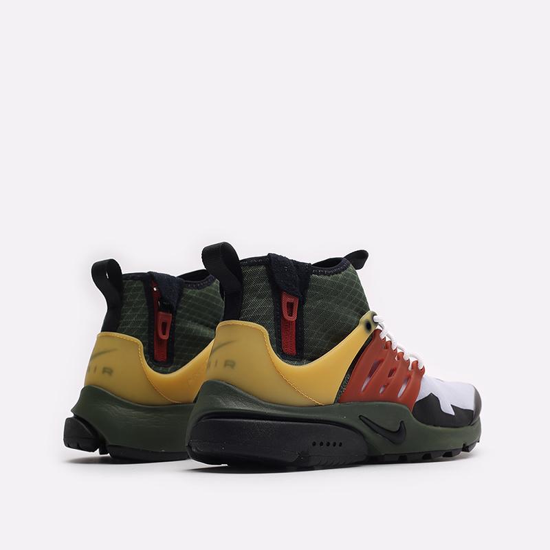 мужские разноцветные кроссовки Nike Air Presto Mid Utility DC8751-300 - цена, описание, фото 3