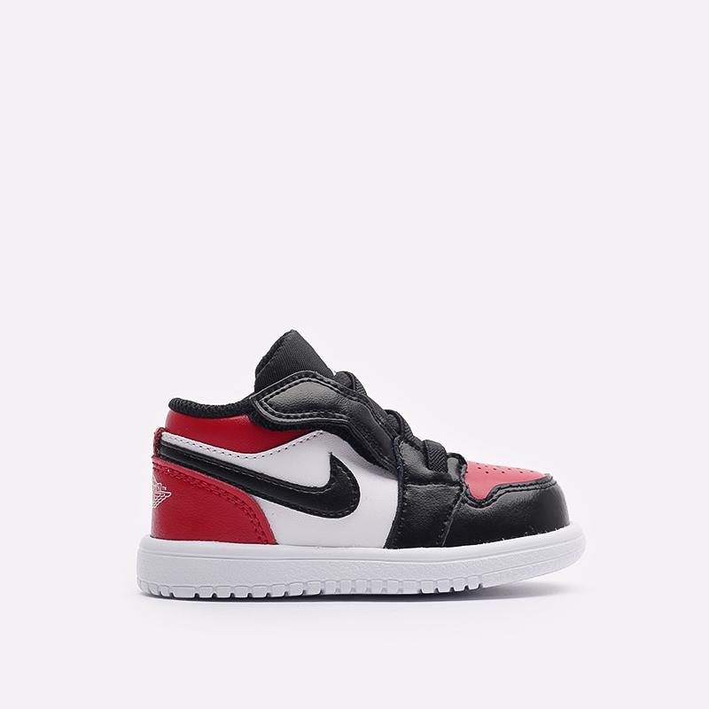 детские красные кроссовки Jordan 1 Low Alt (TD) CI3436-612 - цена, описание, фото 1