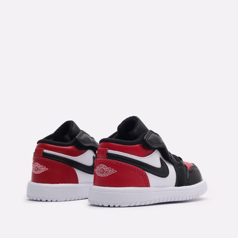 детские красные кроссовки Jordan 1 Low Alt (TD) CI3436-612 - цена, описание, фото 3