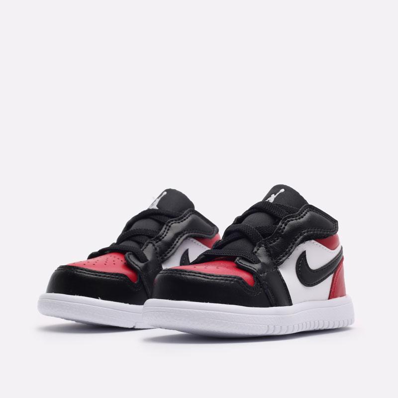 детские красные кроссовки Jordan 1 Low Alt (TD) CI3436-612 - цена, описание, фото 2