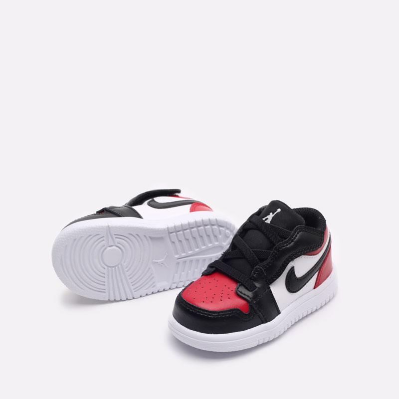 детские красные кроссовки Jordan 1 Low Alt (TD) CI3436-612 - цена, описание, фото 4