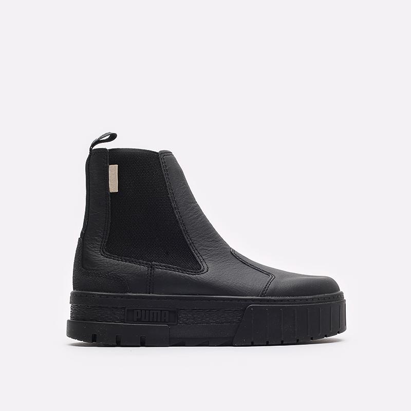 женские черные ботинки PUMA Mayze Chelsea Infuse Wn's 38165101 - цена, описание, фото 1