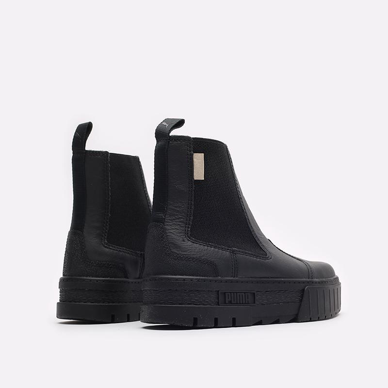 женские черные ботинки PUMA Mayze Chelsea Infuse Wn's 38165101 - цена, описание, фото 3