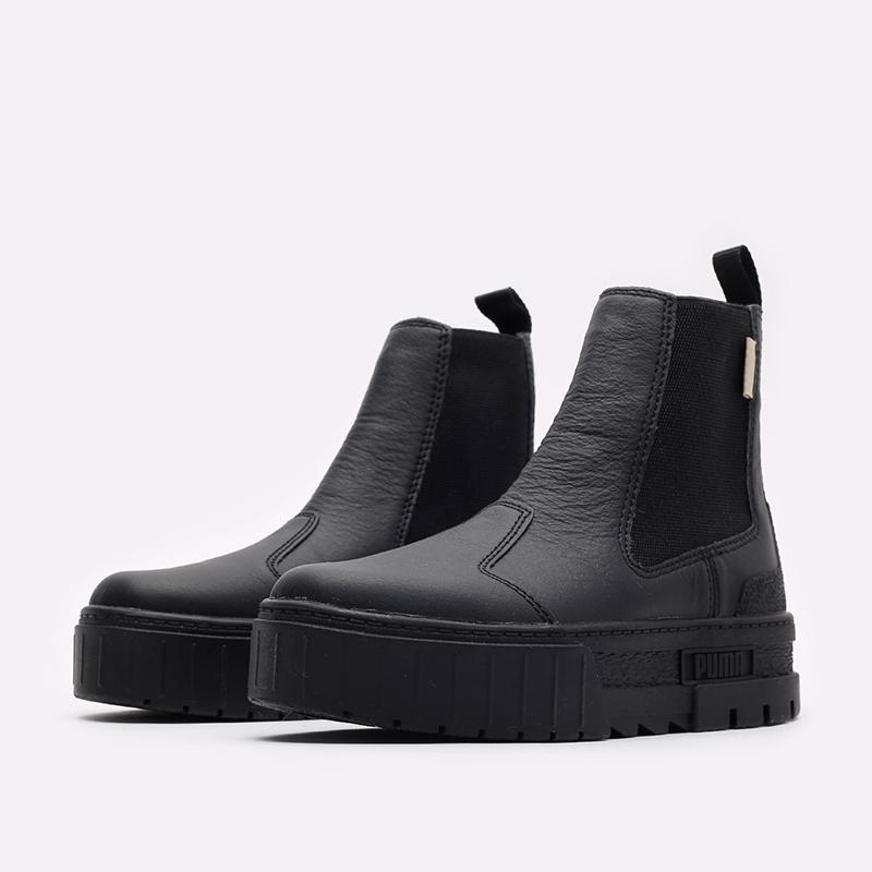 женские черные ботинки PUMA Mayze Chelsea Infuse Wn's 38165101 - цена, описание, фото 4