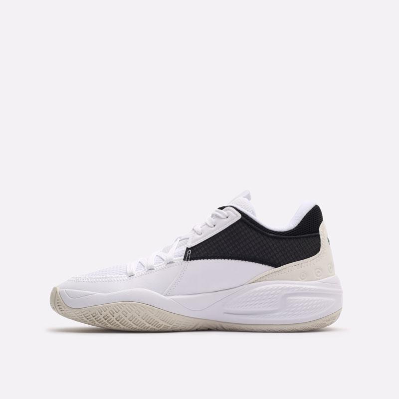 белые баскетбольные кроссовки PUMA Court Rider I 19563402 - цена, описание, фото 2