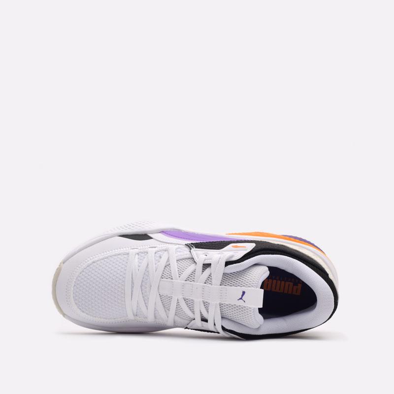 белые баскетбольные кроссовки PUMA Court Rider I 19563402 - цена, описание, фото 6