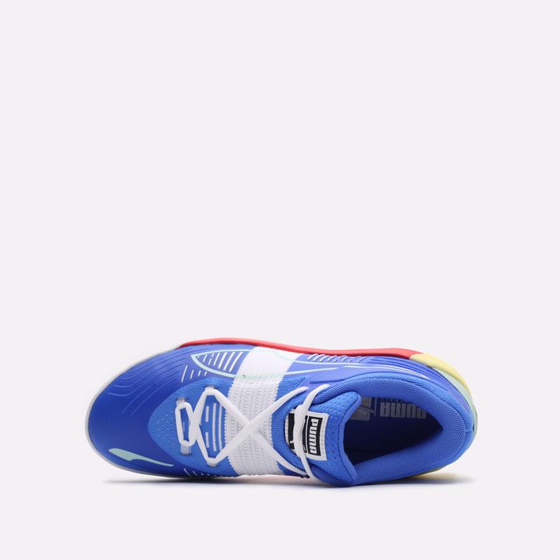 мужские синие баскетбольные кроссовки PUMA Fusion Nitro 19551402 - цена, описание, фото 6