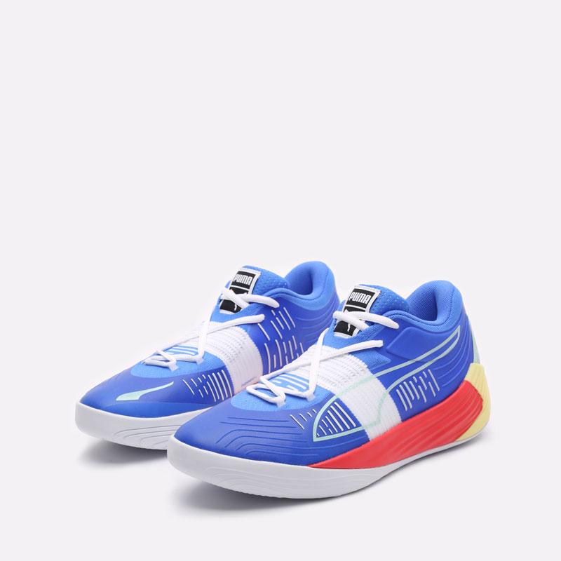 мужские синие баскетбольные кроссовки PUMA Fusion Nitro 19551402 - цена, описание, фото 4