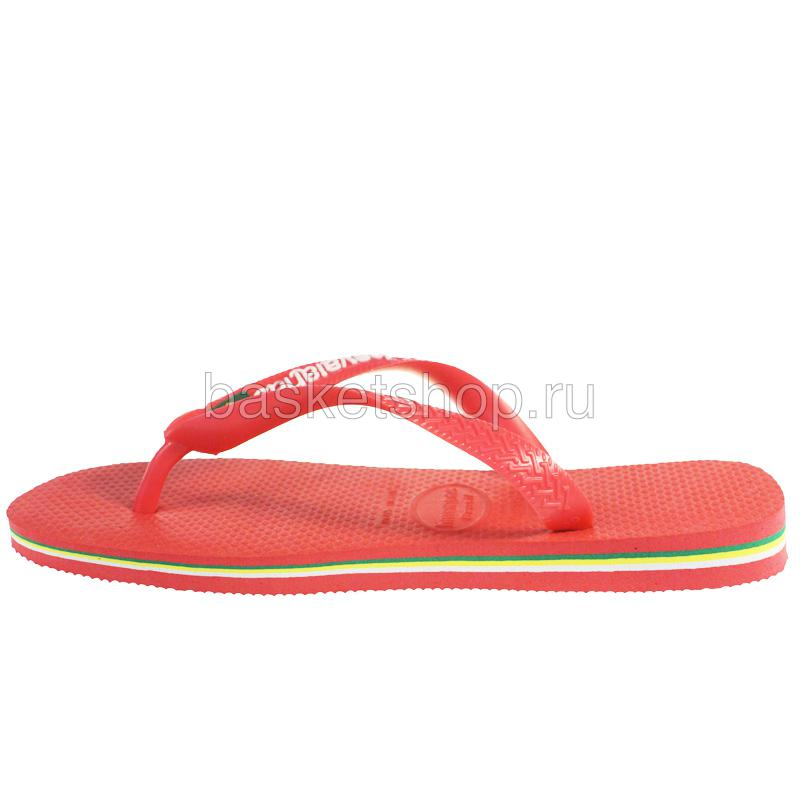 красные, желтые, зеленые  сланцы brasil logo 4110850-2146 - цена, описание, фото 2