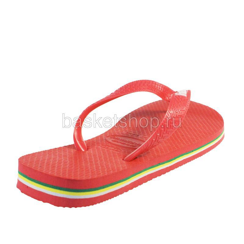 красные, желтые, зеленые  сланцы brasil logo 4110850-2146 - цена, описание, фото 3