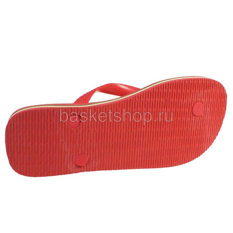красные, желтые, зеленые  сланцы brasil logo 4110850-2146 - цена, описание, фото 4