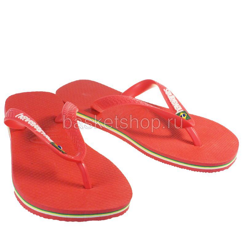 красные, желтые, зеленые  сланцы brasil logo 4110850-2146 - цена, описание, фото 1