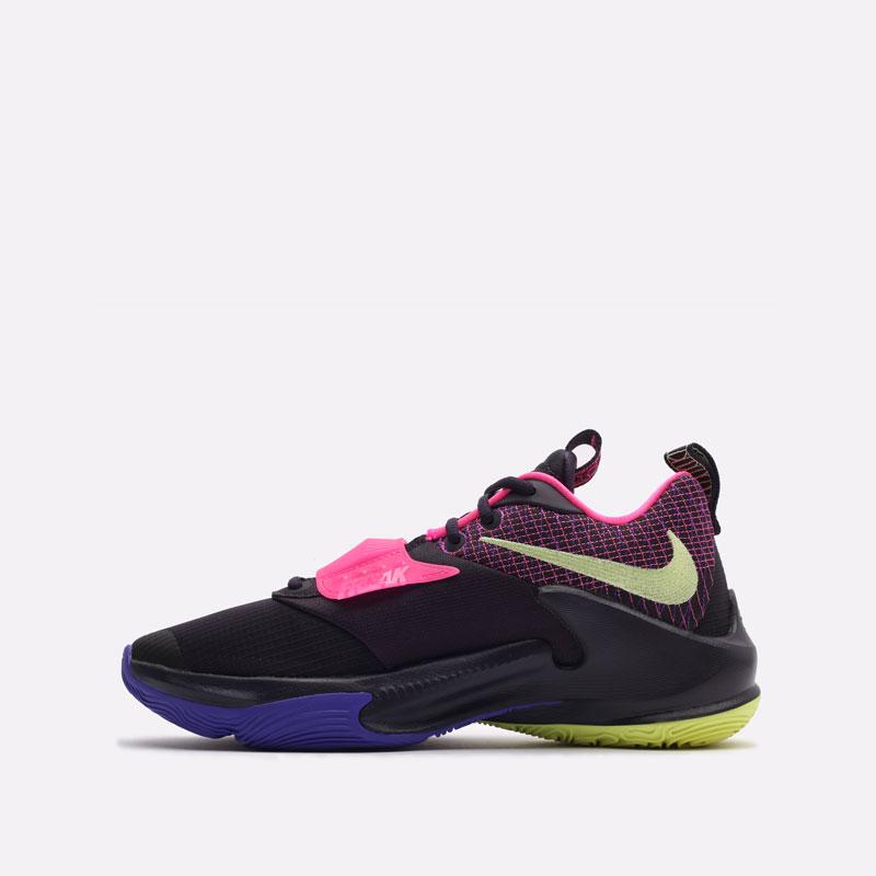 черные баскетбольные кроссовки Nike Zoom Freak 3 DA0694-500 - цена, описание, фото 2