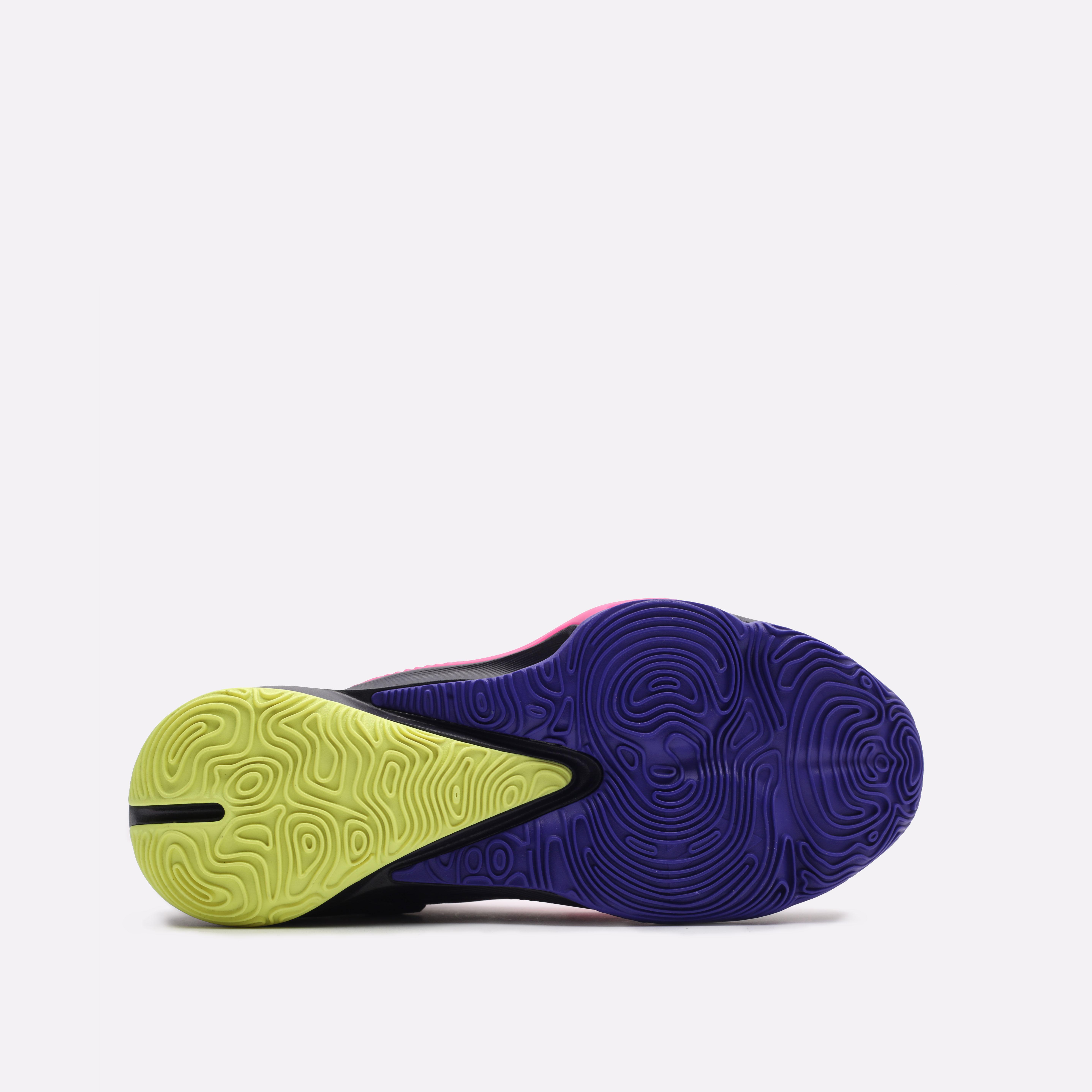 черные баскетбольные кроссовки Nike Zoom Freak 3 DA0694-500 - цена, описание, фото 5