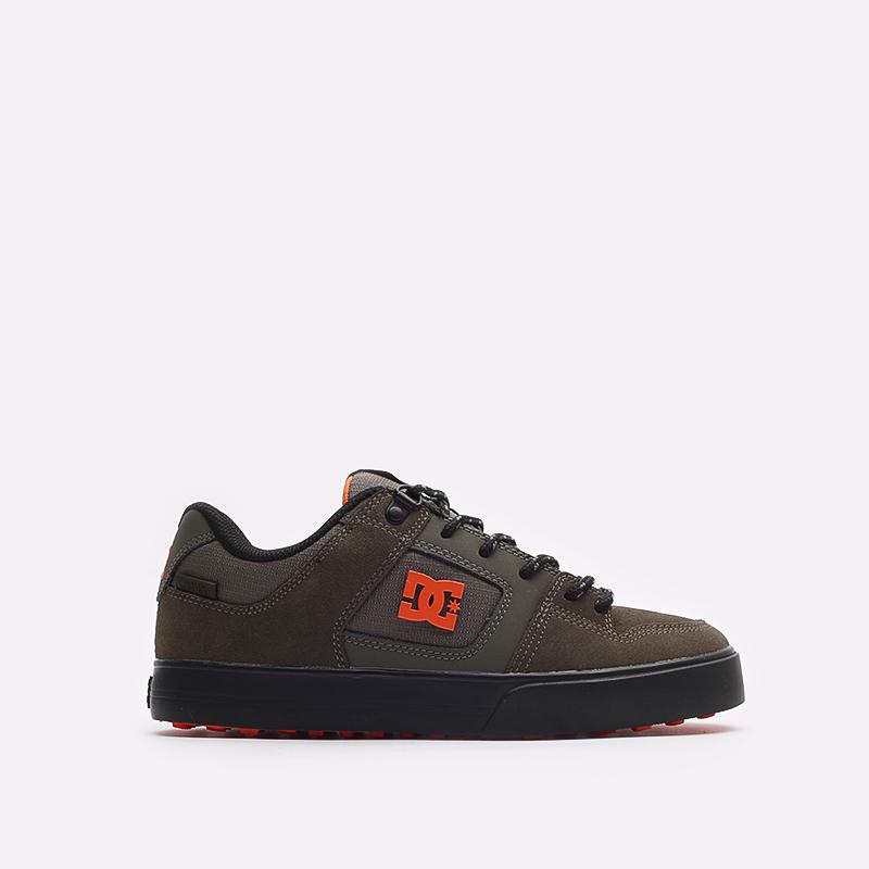 мужские зеленые кроссовки DC SHOES Pure WNT ADYS300151-doo-doo - цена, описание, фото 1
