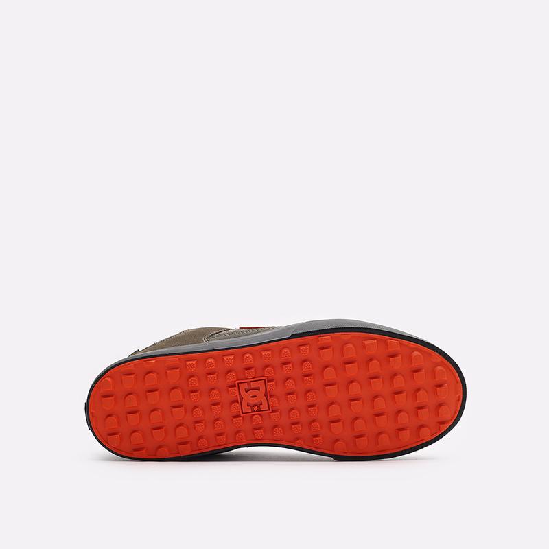 мужские зеленые кроссовки DC SHOES Pure WNT ADYS300151-doo-doo - цена, описание, фото 5
