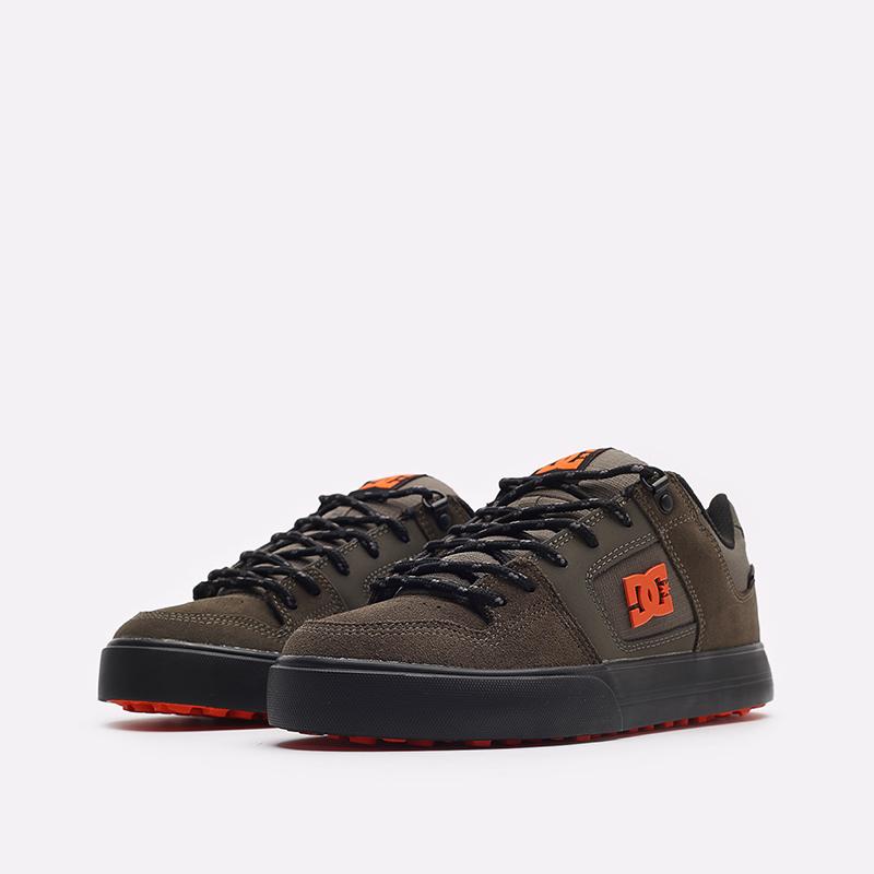 мужские зеленые кроссовки DC SHOES Pure WNT ADYS300151-doo-doo - цена, описание, фото 4