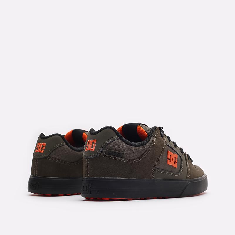 мужские зеленые кроссовки DC SHOES Pure WNT ADYS300151-doo-doo - цена, описание, фото 3