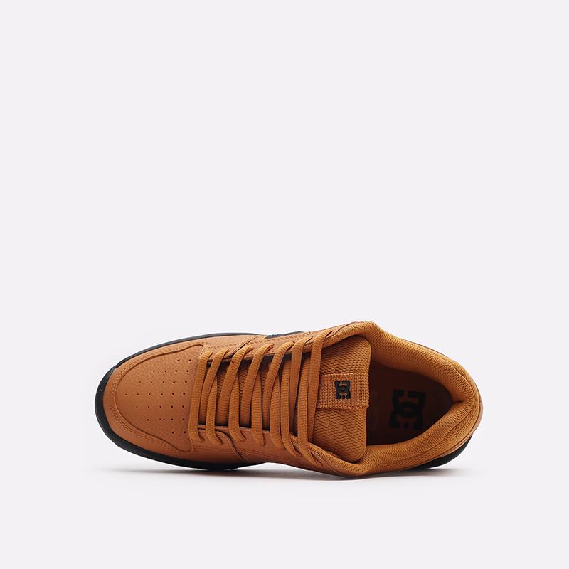 мужские коричневые кроссовки DC SHOES Lynx Zero ADYS100615-wea-wea - цена, описание, фото 6